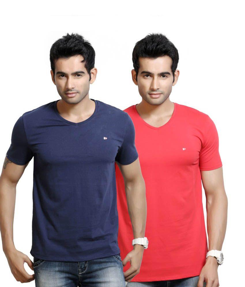 Design Classics Cotton Basics Men T Shirt