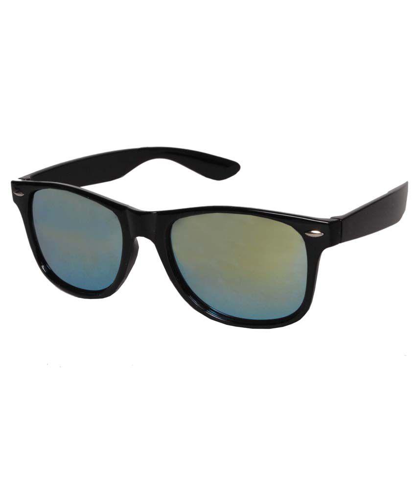S.M Trading Sg-005 Black Non Metal Wayfarer Sunglasses