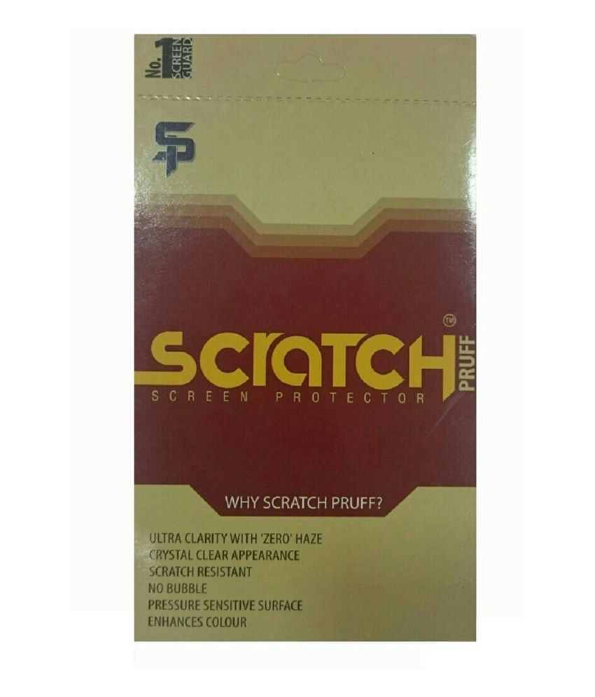 Scratchpruff Diamond Screen Guard for Apple iPhone 4S F&BK