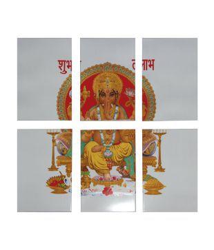Om Ceramics Ganesha Printed Tiles. Wall   Floorings  Buy Wall   Floorings Online at Best Prices in