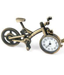 Collectorsheritage Gold Metal Round Quartz Watch