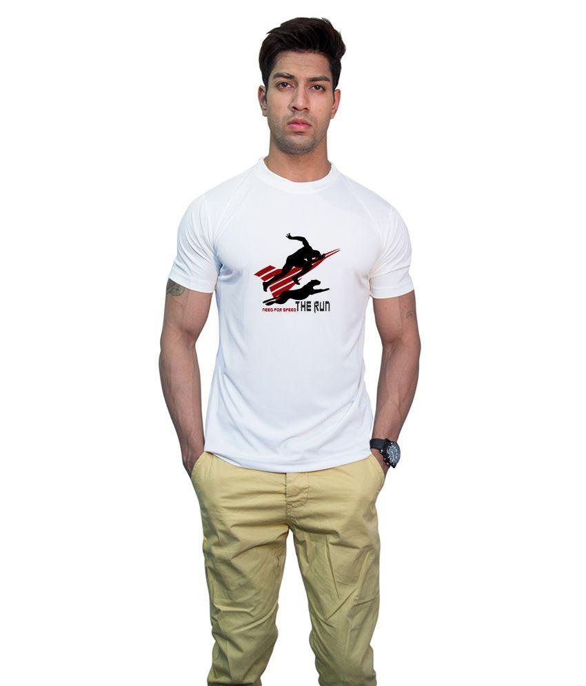 Printland Effit Unique White T Shirt