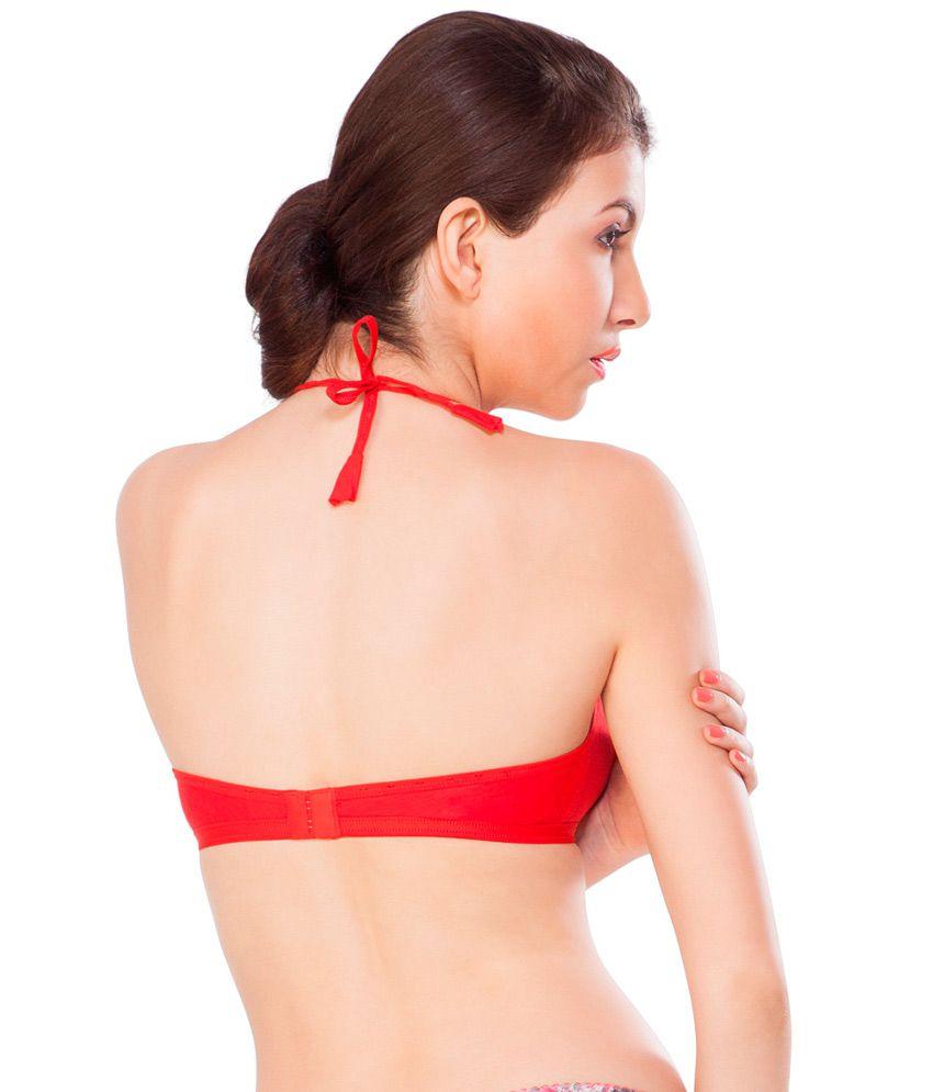 1da76213e2 Buy Nagina Red Cotton Fancy Bra Online at Best Prices in India ...