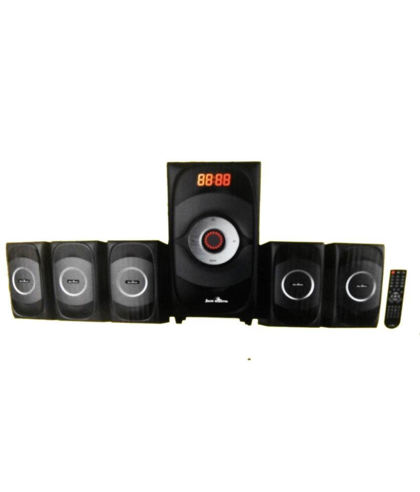 buy jack martin 1600 5 1 channel home theater speaker with fm radio rh snapdeal com
