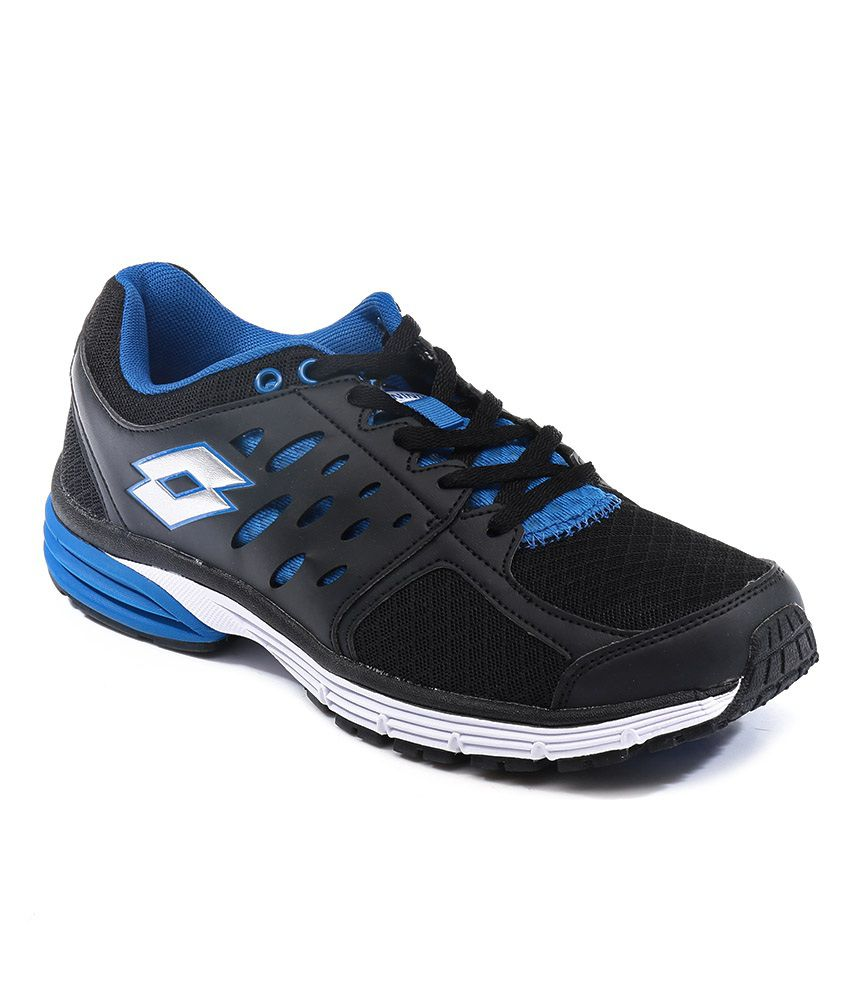 Lotto Santiago Ii Black Sports Shoes