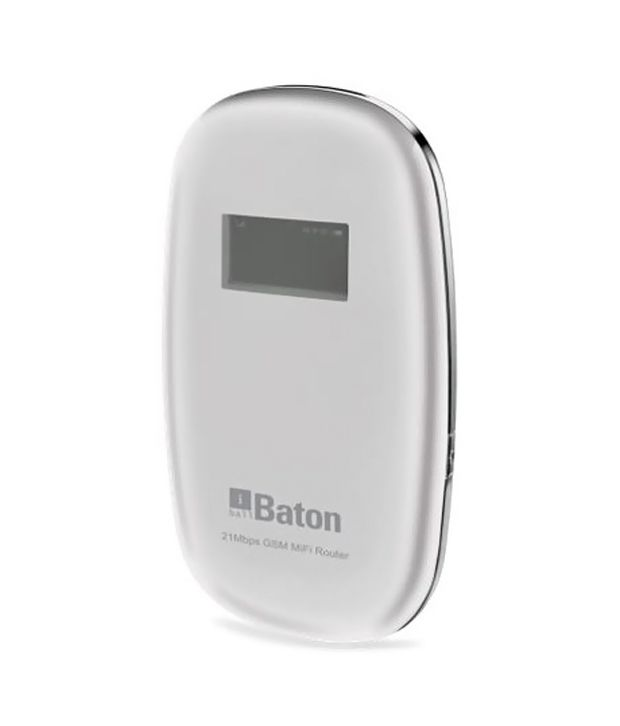 Iball Baton 21mbps Gsm Mifi Router With 2000mah Battery