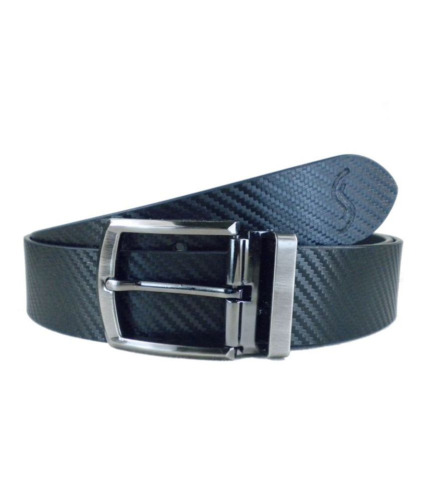 Sizzlers Casual Belt 10MBM-F18A3BYP46-Black
