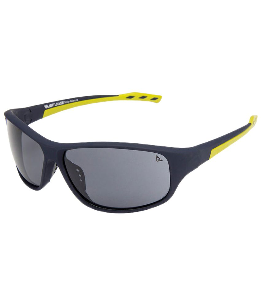 Vincent Chase Blue & Gray Sports Sunglasses