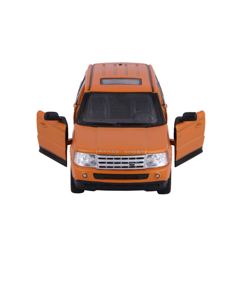 Kinsmart Die Cast Metal Kinsmart Die Cast Metal Range Rover Sport Orange