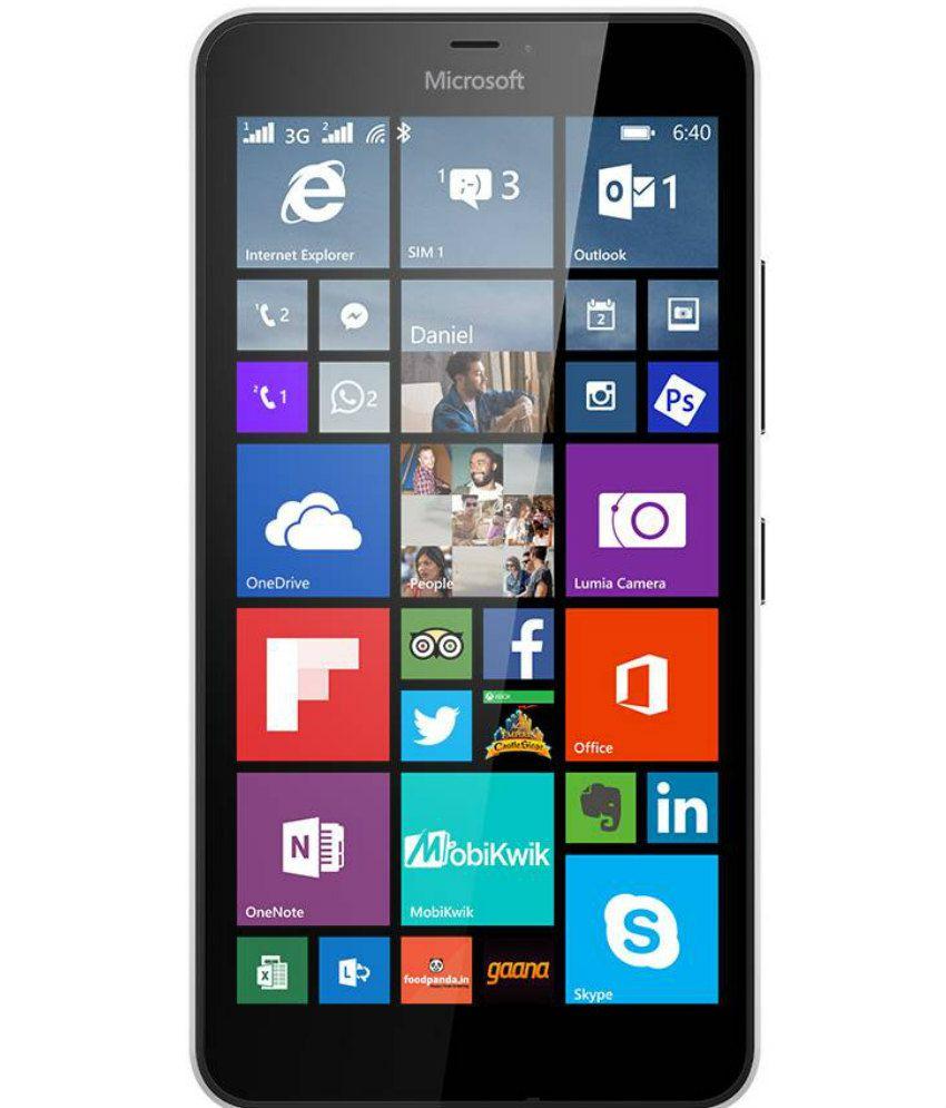 Microsoft lumia 640 xl ( 8GB , 1 GB ) Black Orange