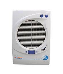 Bajaj Platini PX93 DC Woodwool Desert Cooler White