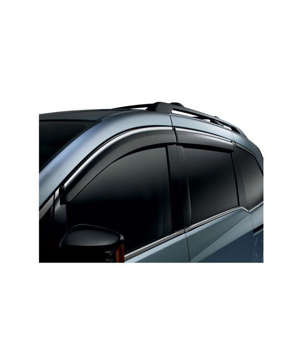 ... AutoKart Chrome Garnish Door-Rain-Sun Visors For Maruti Suzuki Alto 800 ec736dc1d3d