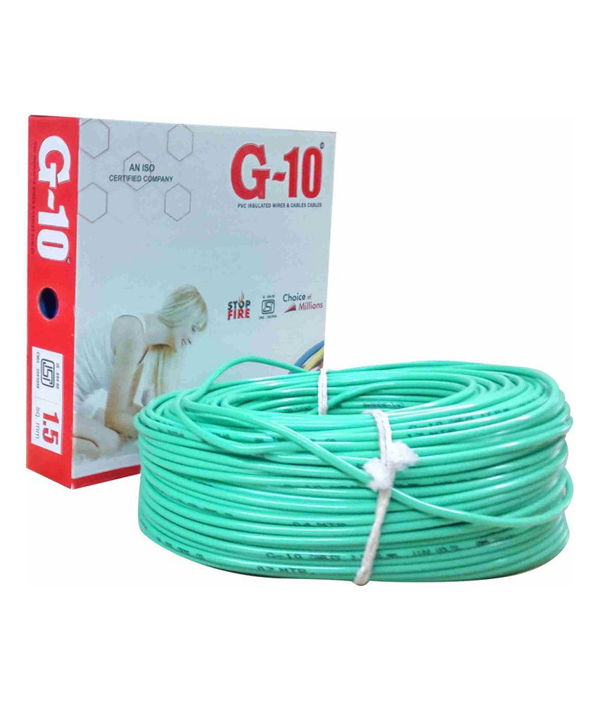 Buy G-10 Stranded Copper Conductor, PVC Coated Flexible Wires Online ...