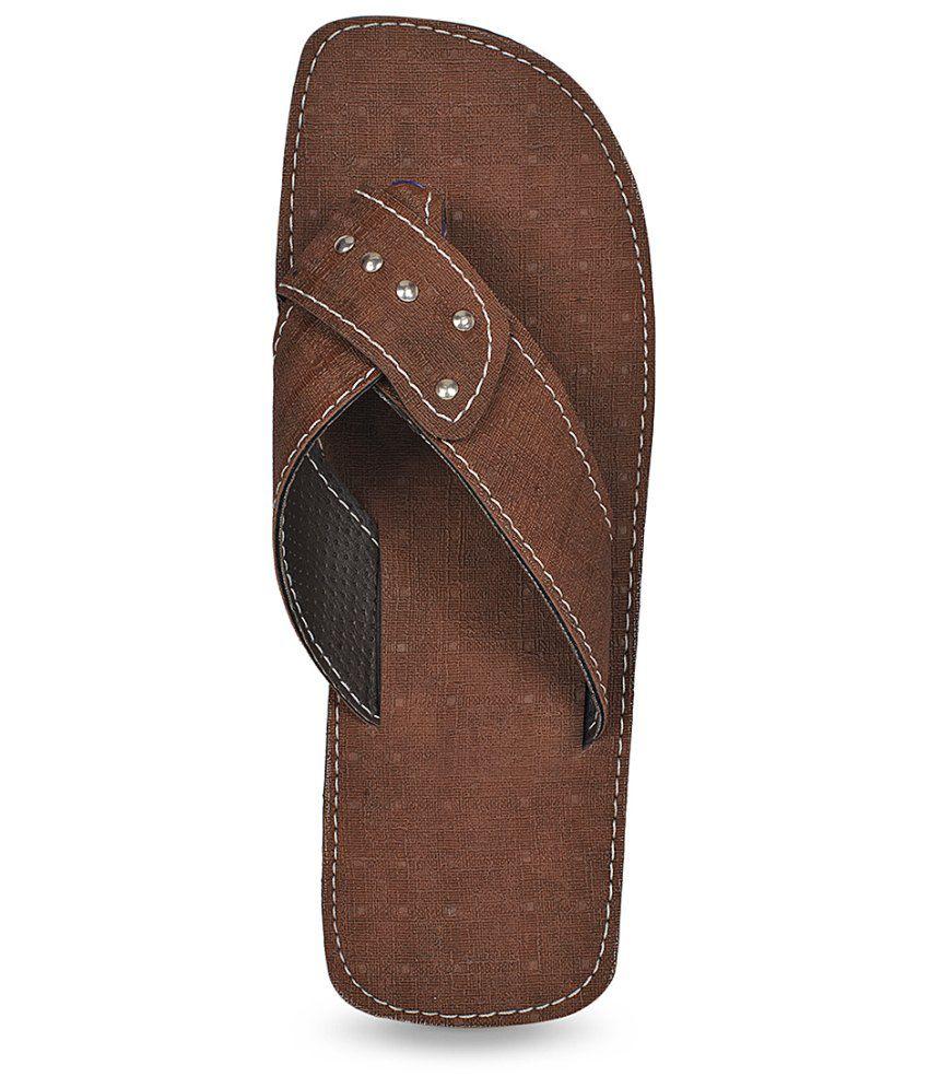 3335d737a3dc Paduki Brown Floater Sandals - Buy Paduki Brown Floater Sandals ...