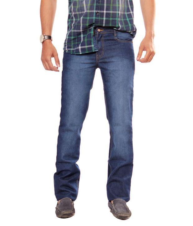 Uber Urben Blue Cotton Jean