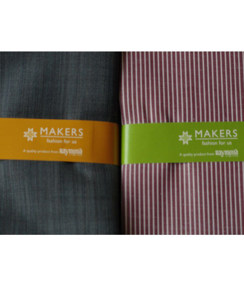 94fcbb5dd ... Pack Raymond Makers Unstitched Fabric for Shirt   Trouser Combo Gift ...