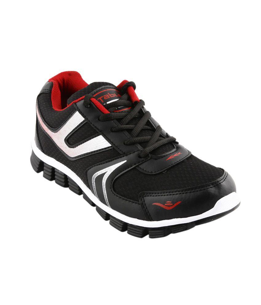 Columbus Black Sport Shoes