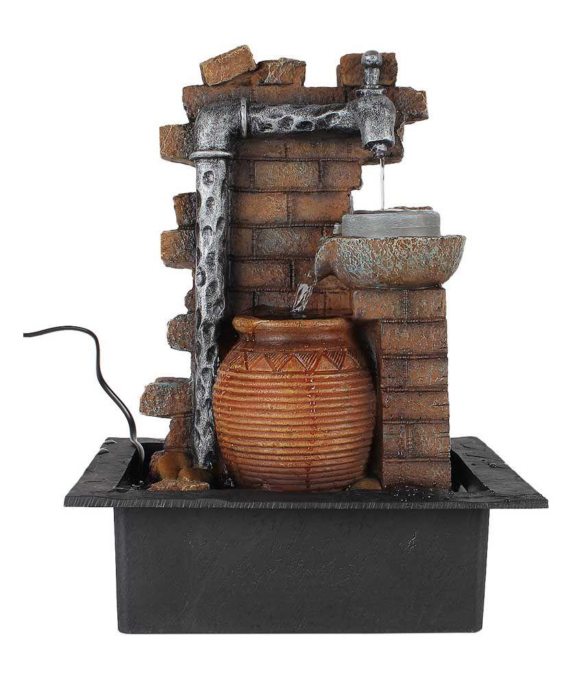 TiiKart Textured Water Fountain Showpieces TiiKart Textured