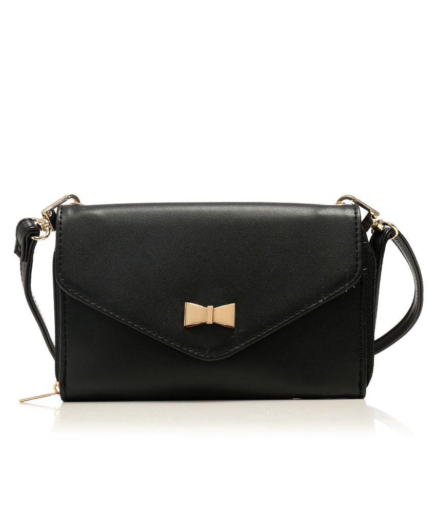 Vero Moda 5712610753584 Black Sling Bags - Buy Vero Moda ...