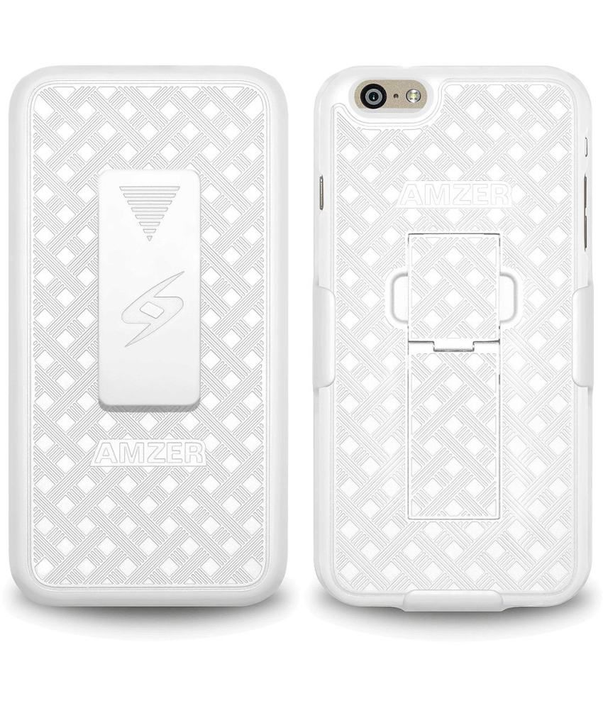 Amzer Holster For Apple iPhone 6 Plus White