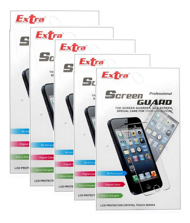 Extra Screen Protector For Google Nexus 7 - Pack Of 5