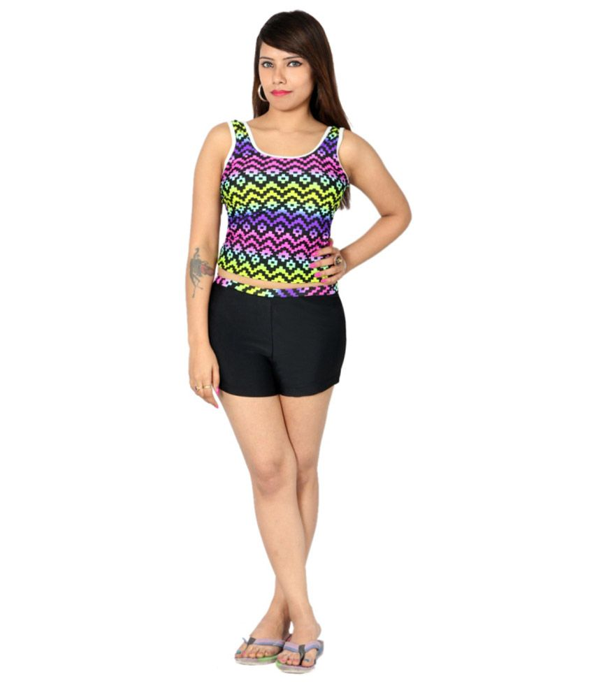 Indraprastha Tankini Shorts Swimsuit/ Swimming Costume