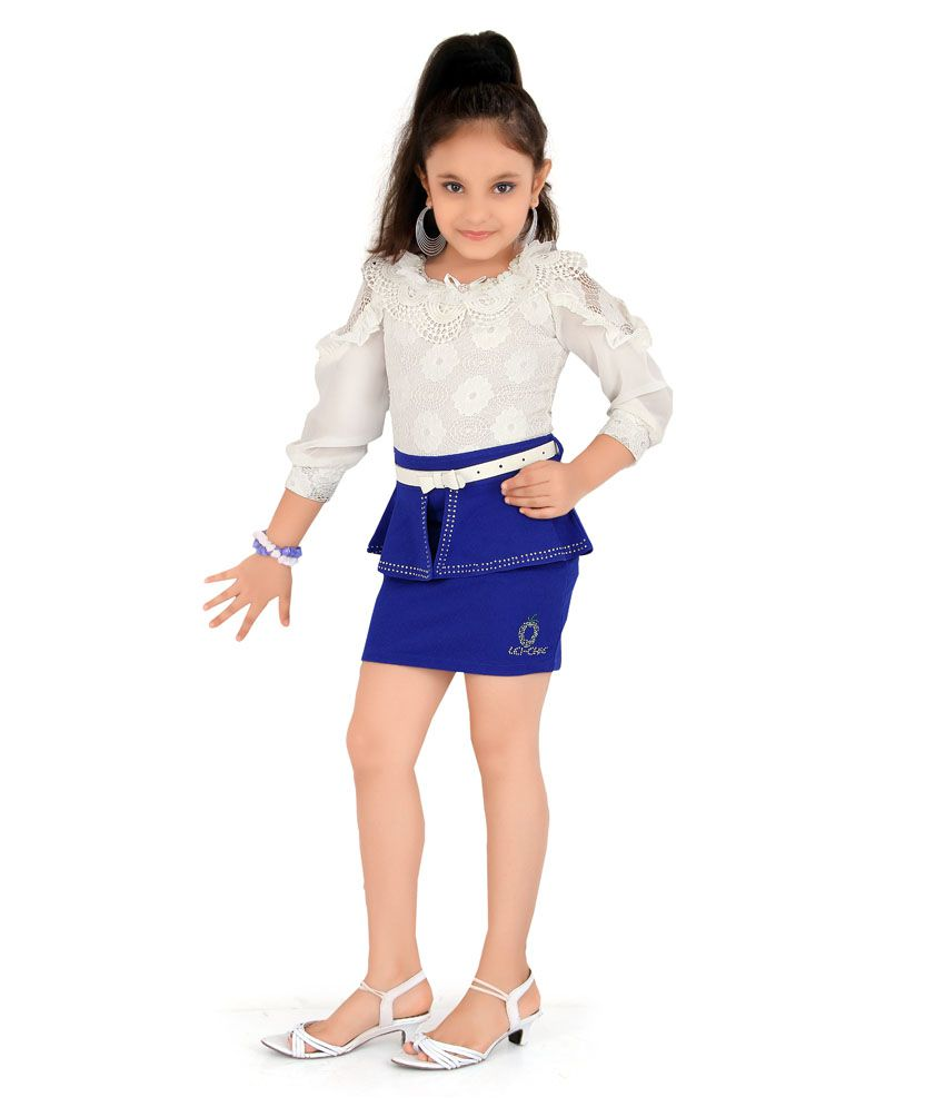 34190192969e Leichie Casual Middy Dress with Belt and Sticker - Buy Leichie Casual Middy  Dress with Belt and Sticker Online at Low Price - Snapdeal