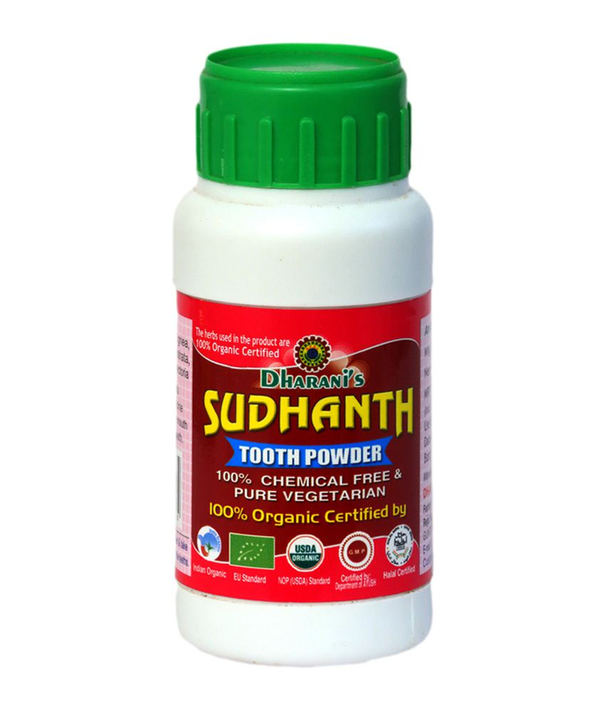 Dharani's sudanth tooth powder - organic Toothpowder 50 gm