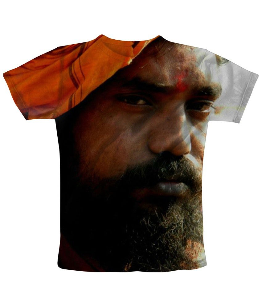 Freecultr Express Multicolour Baba Printed T Shirt