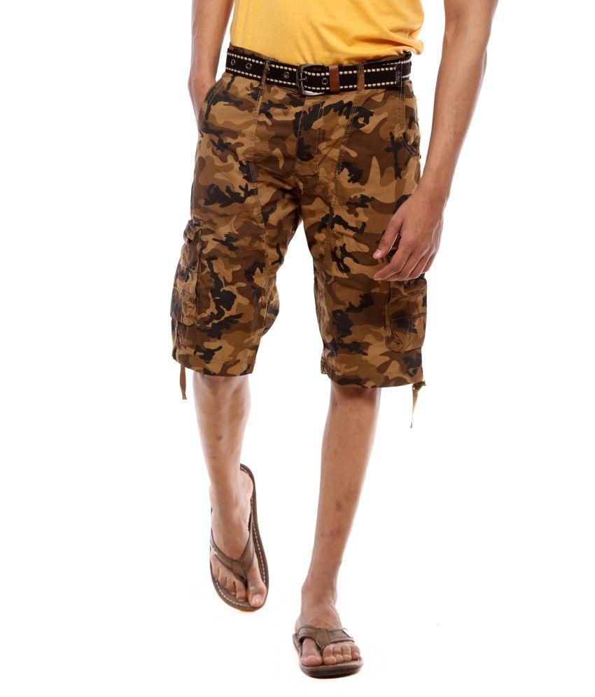 Sports 52 Wear Men Cargo Short Pants