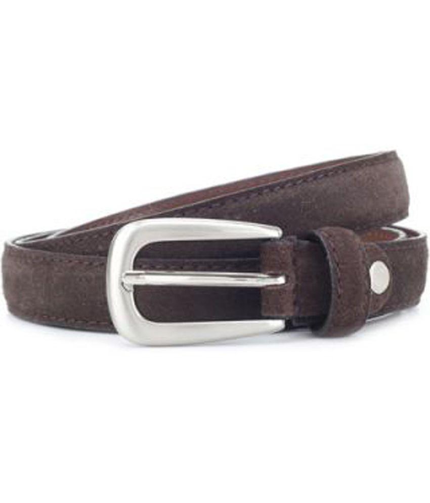 Allen Solly Brown Belt For Men