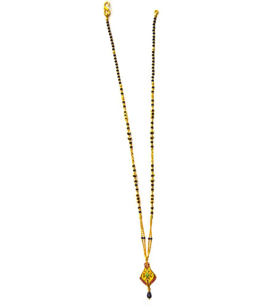Tirupati Jewellers Stylish 22k Daily Wear Mangalsutra