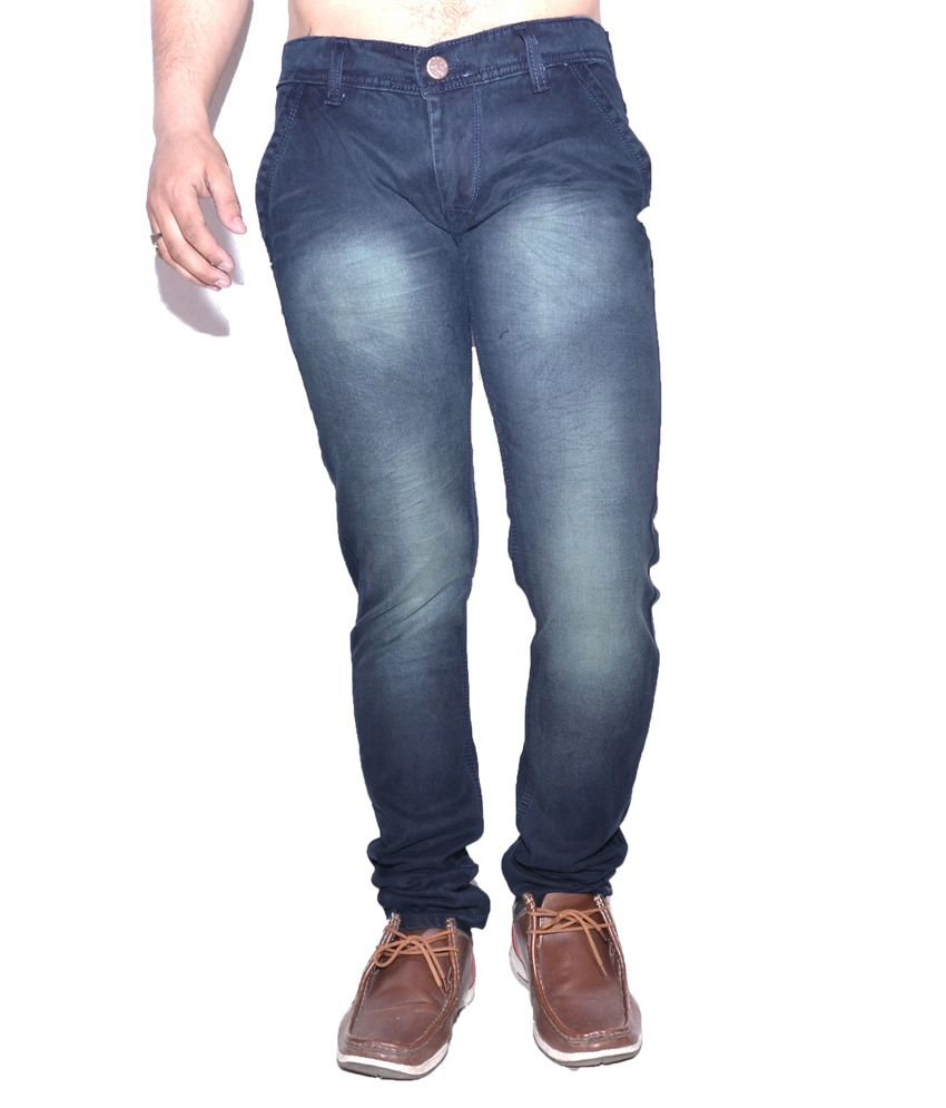 Nation Mania Light Black Slim Jeans