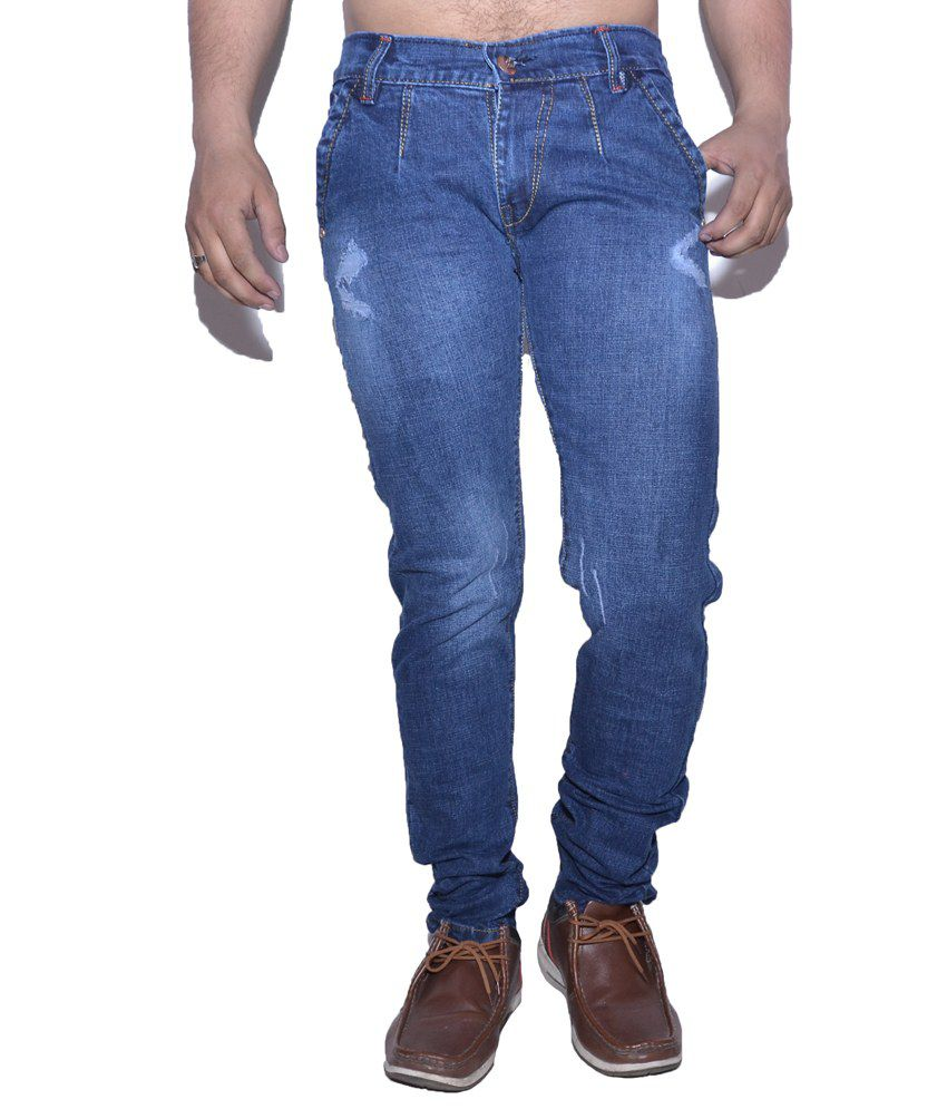 Nation Mania Light Blue Slim Jeans