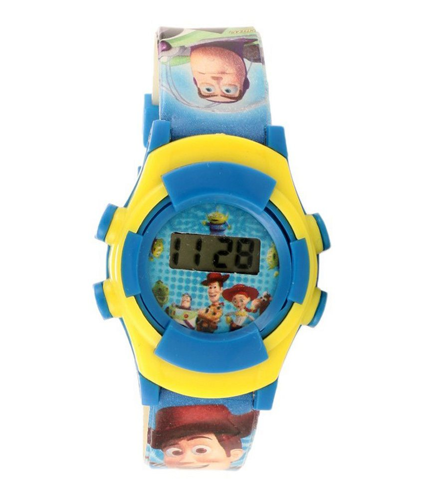 Dach Toy Story : Disney light blue toy story digital watch for boys price