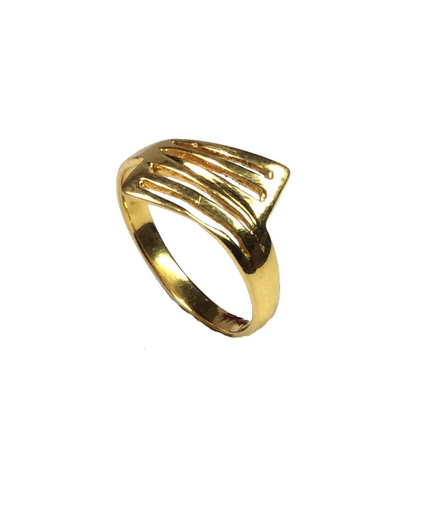 Kataria Jewellers 22KT Gold Contemporary Ladies Ring