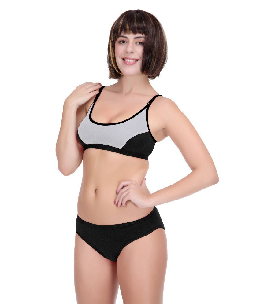2221876a25a355 Buy Selfcare Sports Bra & Panty Set Online at Best Prices in India -  Snapdeal
