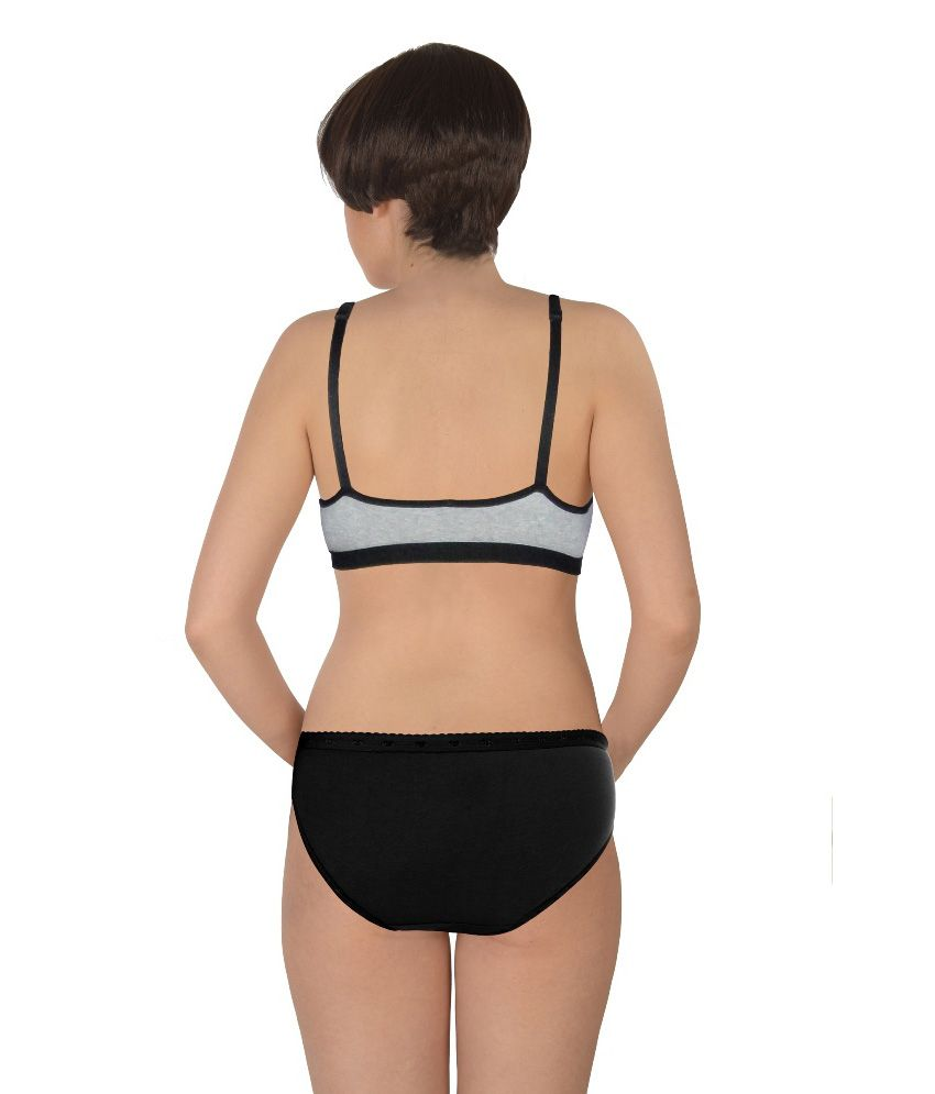 9159c53bf60444 Buy Selfcare Sports Bra & Panty Set Online at Best Prices in India ...