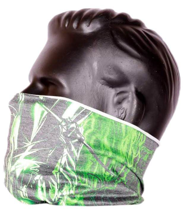 SmuffWear Premium Samurai Power Up Dark Green Headwrap Headband