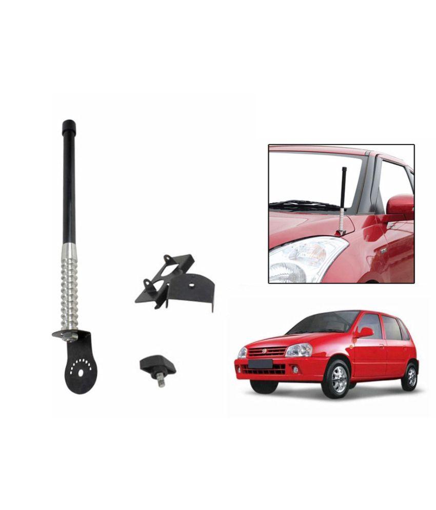 Spedy Front And Rear Stylish Vip Car Antenna Black- Maruti Zen Old