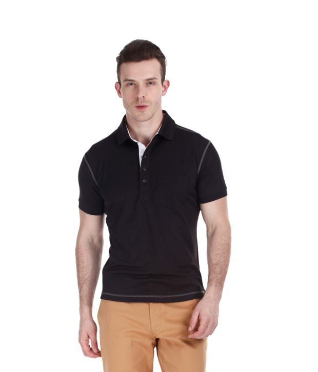 Zobello Multicolour Polyester Fitness Polo
