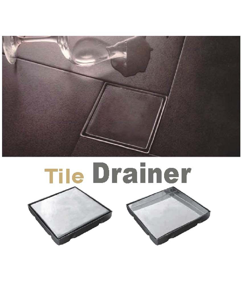 buy viking tile marble drainer steel tile drainers online at low rh snapdeal com