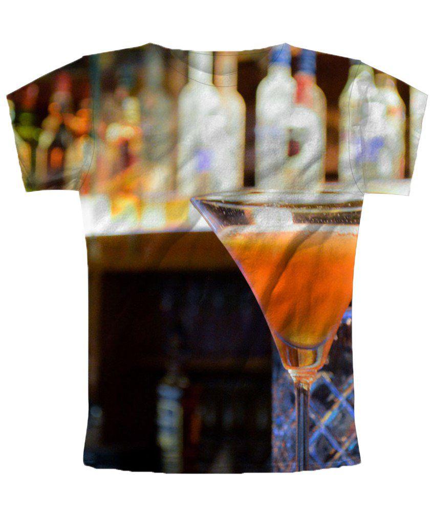Freecultr Express Multicolour Magic Printed T Shirt