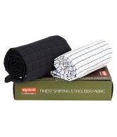 Raymond Fabric Combo Pack - Shirt & Trouser - 649234345633