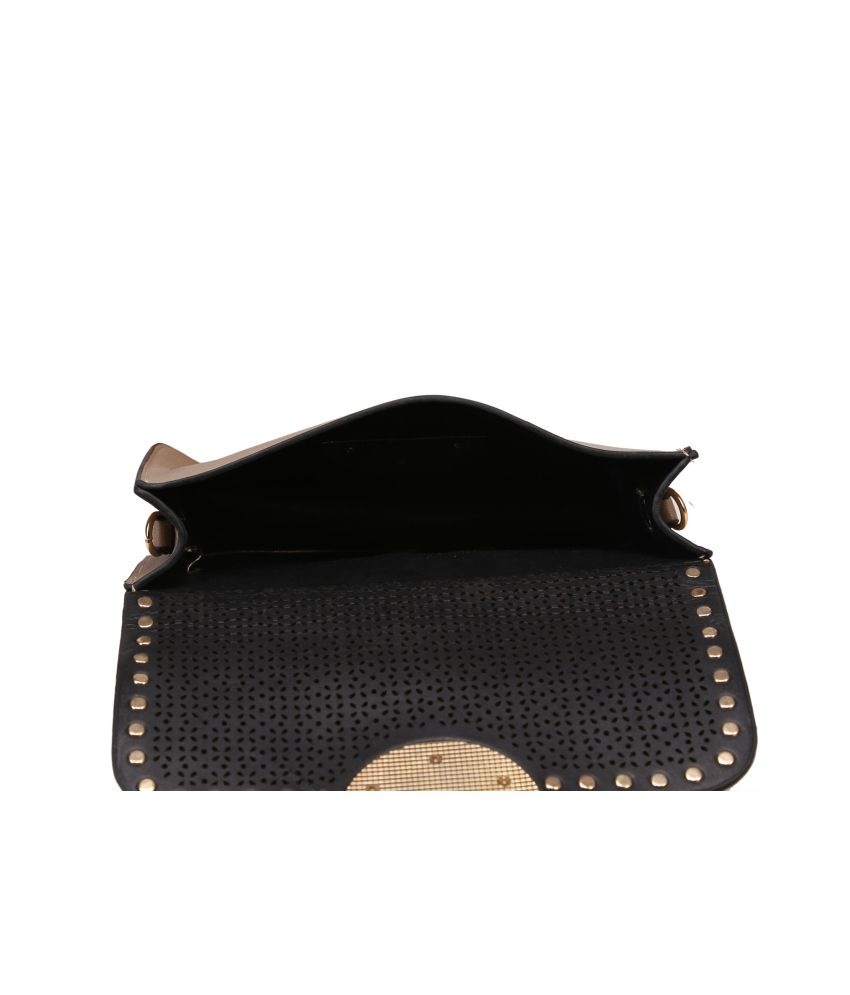 Adara Black Long Wallet