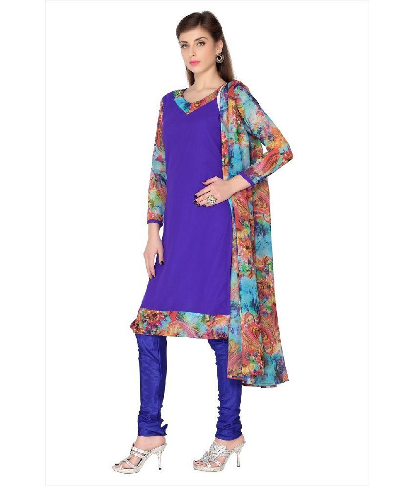Designersareez Printed Salwar Suit