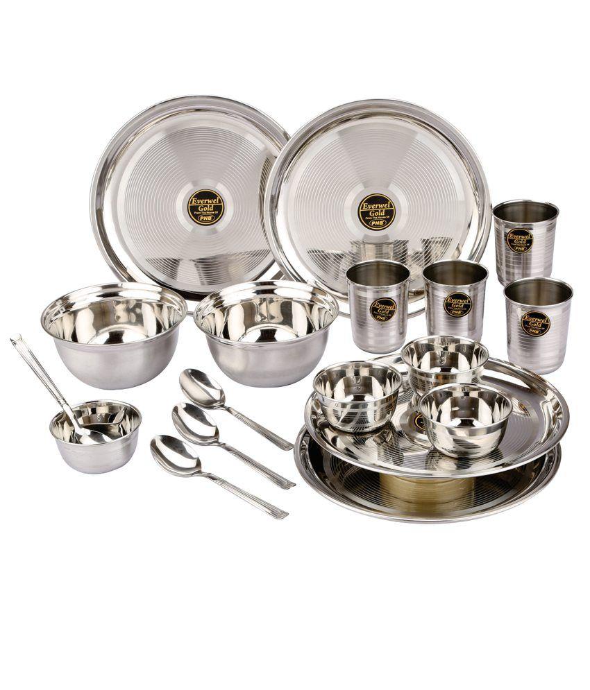 Naaptol Kitchen Set: Everwel 18 Pcs Dinner Set: Buy Online At Best Price In