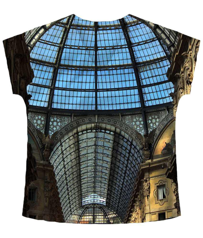 Freecultr Express Multicolour Si V Neck Printed T Shirt