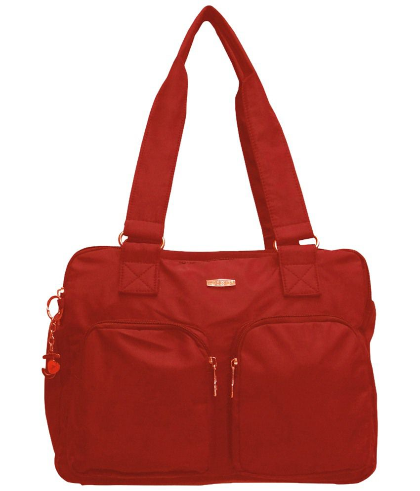 Jinu JINUK837d Red Shoulder Bags
