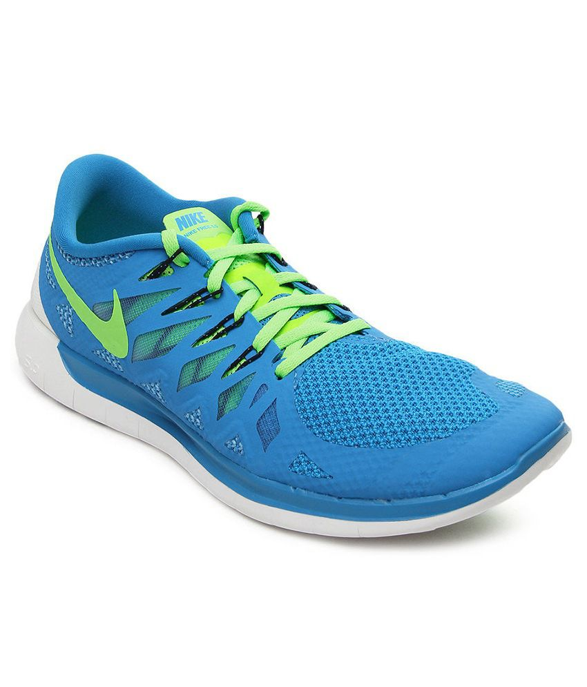 8cba0276bc202 Nike Free 5.0 Blue Sport Shoes - Buy Nike Free 5.0 Blue Sport Shoes ...